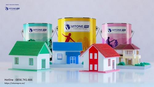 VITONE PRO - Thương hiệu mạnh trong ngành sơn Việt Nam