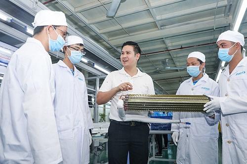Giữa thời Covid-19, Asanzo đầu tư dây chuyền sản xuất máy lạnh hiện đại mới