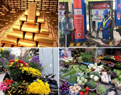 Tiêu dùng trong tuần (từ 22-28/2/2021): Giá vàng, thực phẩm, hoa đồng loạt lao dốc