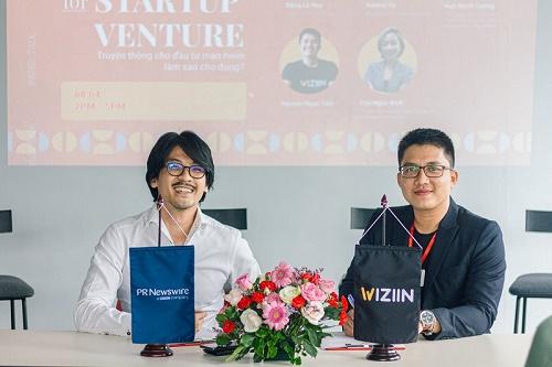 Wiziin bắt tay cùng Tập đoàn truyền thông quốc tế PR Newswire: Hỗ trợ đắc lực lĩnh vực truyền thông & đầu tư mạo hiểm