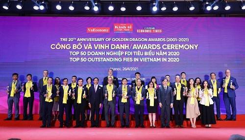 """Timo Việt Nam được vinh danh là """"Nền tảng ngân hàng kỹ thuật số hàng đầu tại Việt Nam""""  tại giải thưởng Rồng Vàng 2021"""