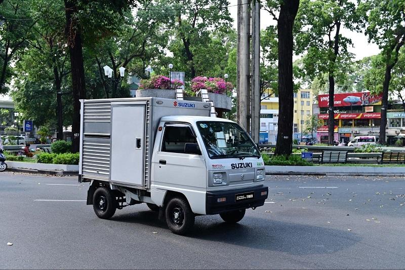 Sở hữu xe tải nhẹ Suzuki chỉ với 50 triệu