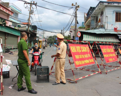 TP Hồ Chí Minh thực hiện Chỉ thị 16 với nhiều biện pháp tăng cường