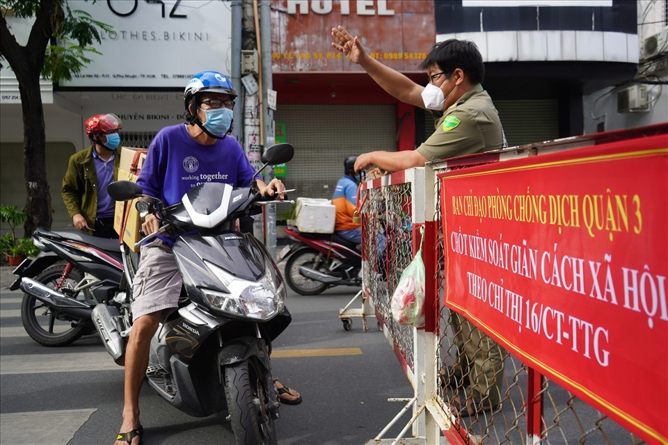 TP Hồ Chí Minh: Tiếp tục áp dụng Chỉ thị 16 đến hết ngày 1/8/2021