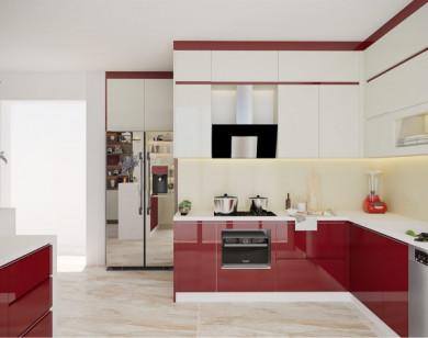 Chọn màu sắc cho tủ bếp theo phong thủy
