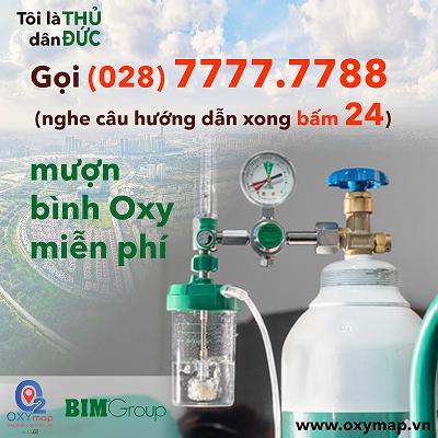 Tổng đài OxyMap hỗ trợ miễn phí oxy cho bệnh nhân Covid-19 triển khai đồng loạt tại TP Thủ Đức
