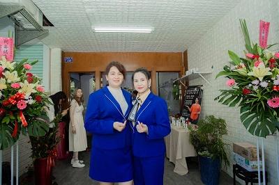 Nữ Doanh nhân Nguyễn Vũ Linh khai trương cửa hàng sản phẩm làm đẹp tại Cao Hùng – Đài Loan