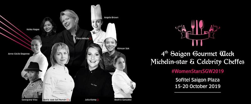Кулинарный фестиваль All Women Cheffes проведут в Sofitel Saigon Plaza