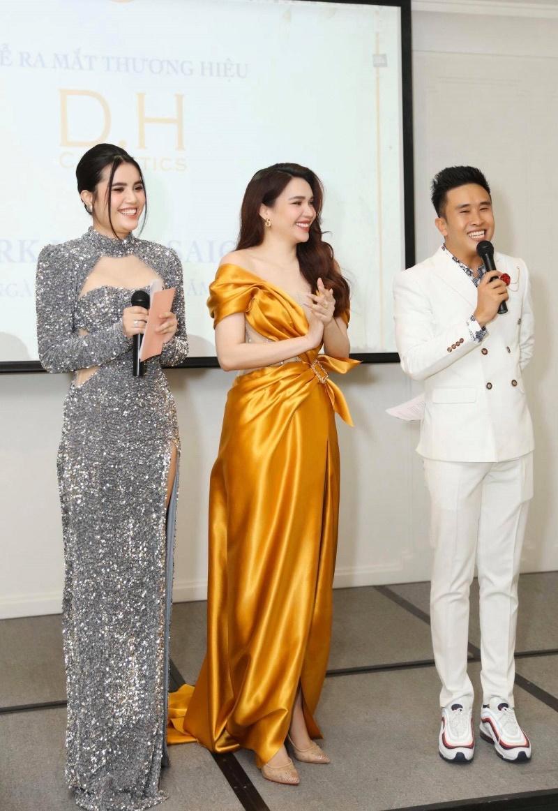 Hoa hậu Diệu Hân ra mắt Thương hiệu mỹ phẩm mới D.H Cosmetics